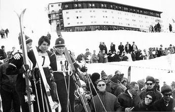 50 años del Mundial de esquí de Portillo 1966