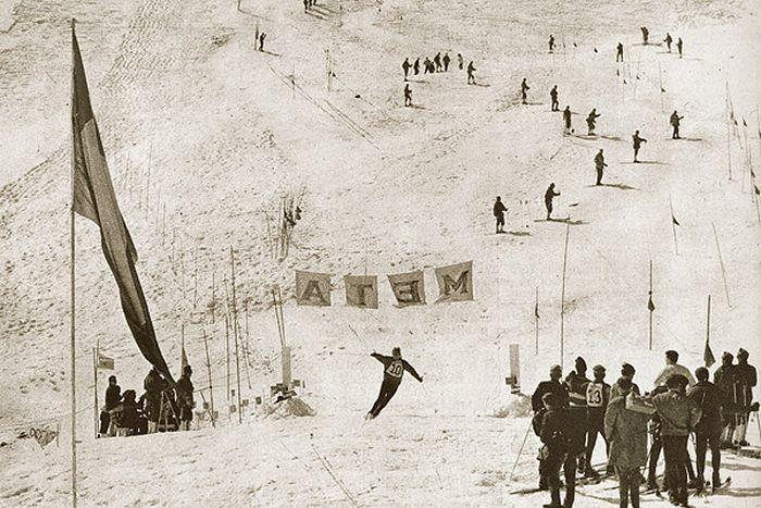 Mundial de esquí Portillo 1966