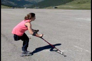 Entrenamientos estivales del Equipo Nacional de Esquí Adaptado