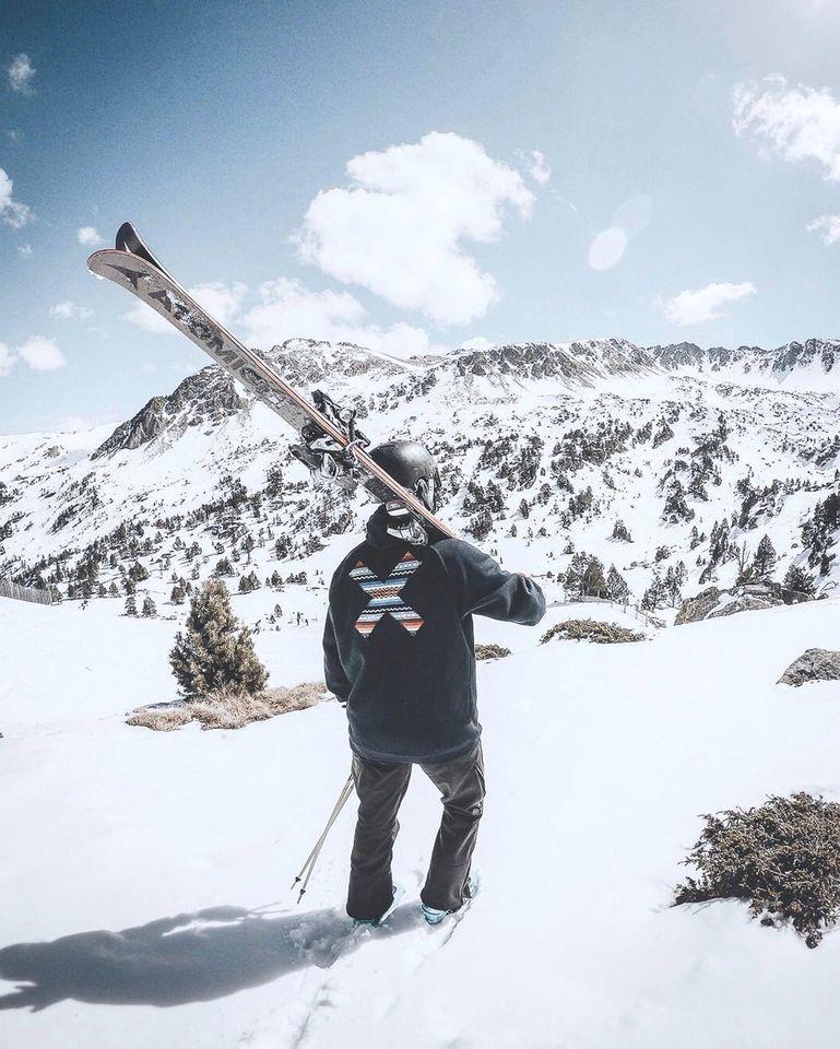 Grandvalira dominiio esquiable de Andorra Pirineos