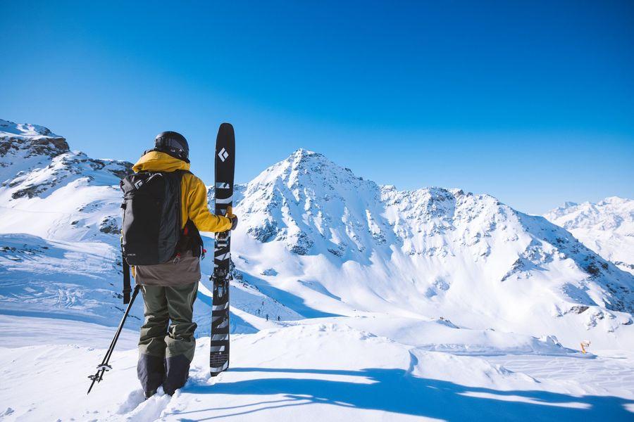 esquiador Black Diamond