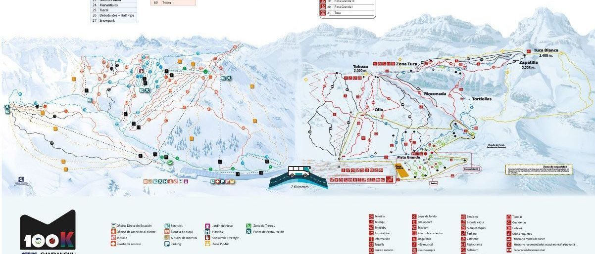 Vuelve el forfait 100K Astún-Candanchú: 100 kilómetros de esquí en un solo pase