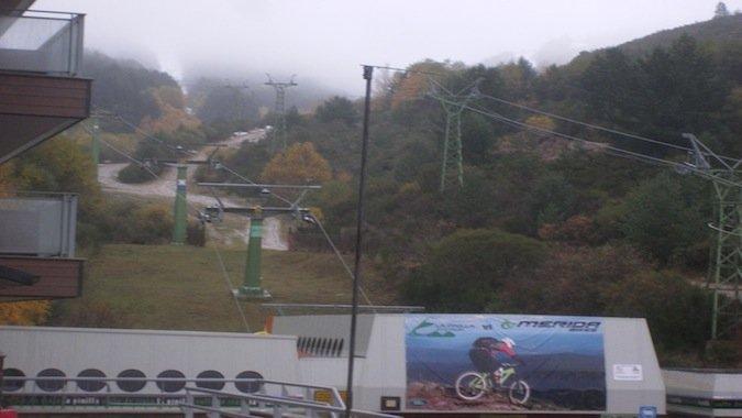 Primeras nieves en La Pinilla (Actualizado)