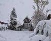 Abundantes nevadas en el norte de España
