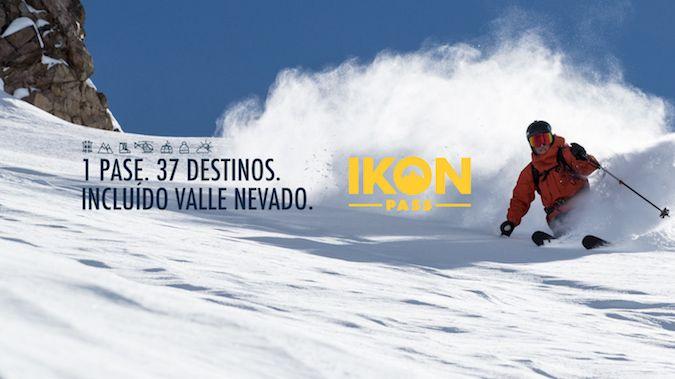 Valle Nevado se asocia con Ikon Pass