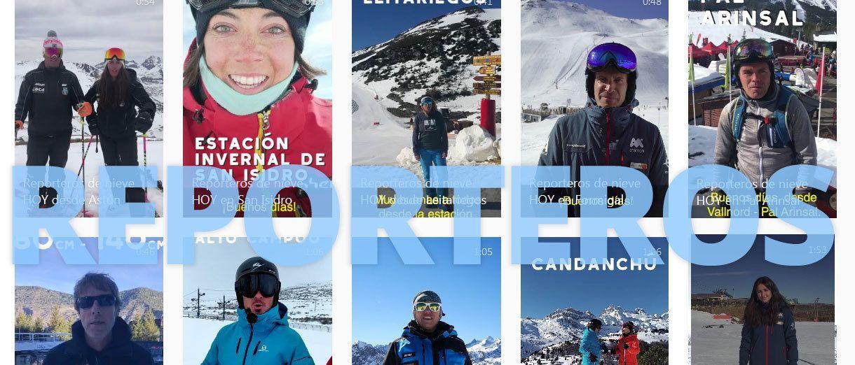 Calendario Reporteros de Nieve Temporada 2019-2020