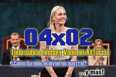 04x02 Todo sobre Lindsey Vonn, verano austral y más