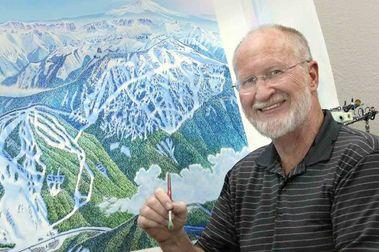 James Niehues: el señor que hay detrás de los mapas de esquí