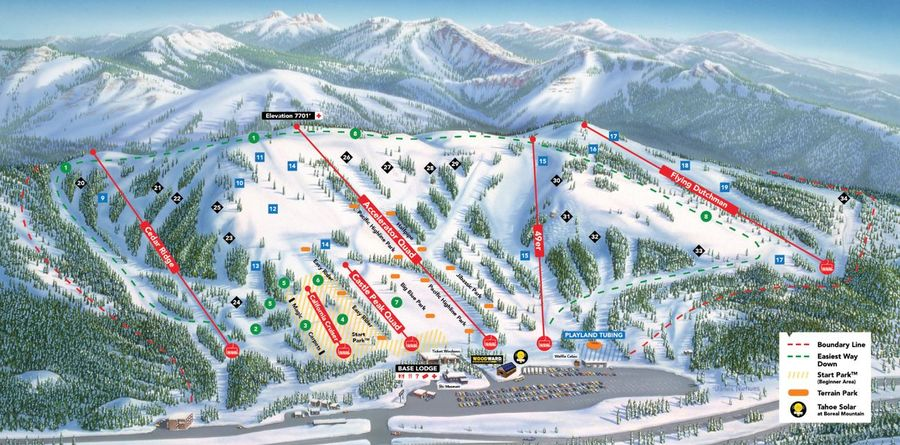 Boreal Mountain Ski