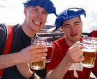 Polonia multará a los esquiadores borrachos