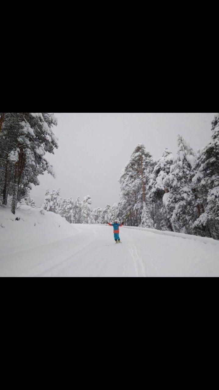 NEVADON A 57 KM DE MADRID