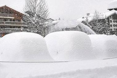 Austria de locura!! Las nevadas más gordas de los Alpes