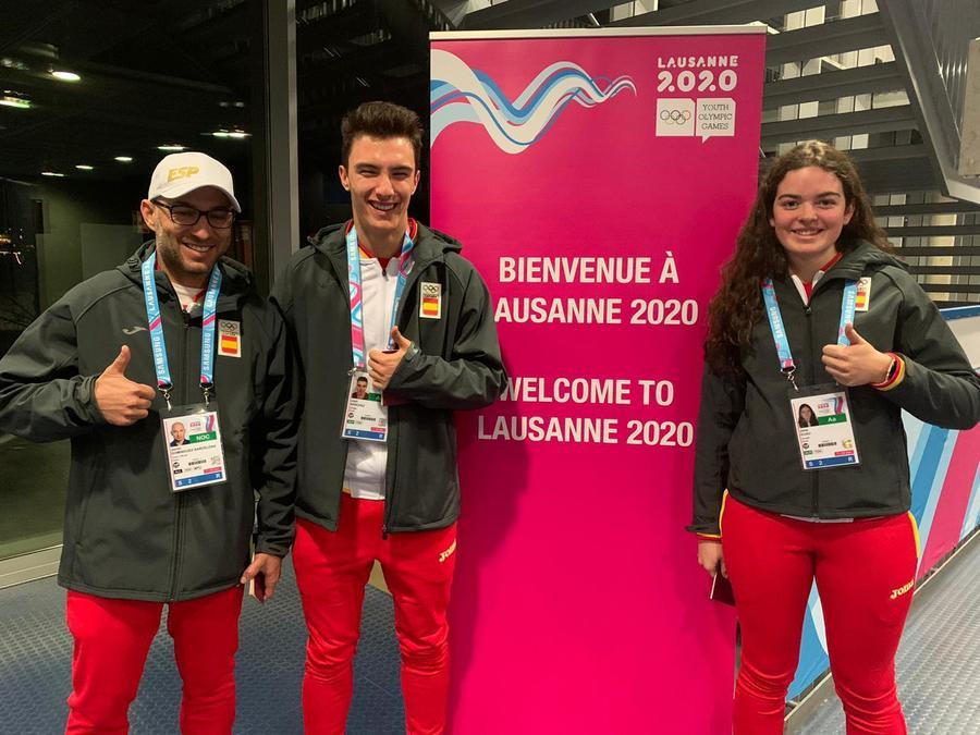 Deportistas RFEDI en Lausane 2020