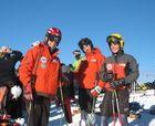 Resultados Trofeo Borrufa, Candanchú Esquí Club, Campeonatos de Cataluña absolutos y Trofeo Zagales