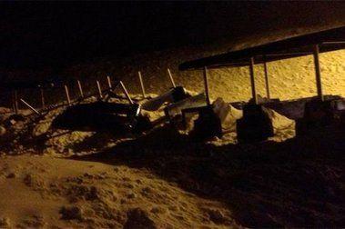 Un alud en Astún alcanza el parking