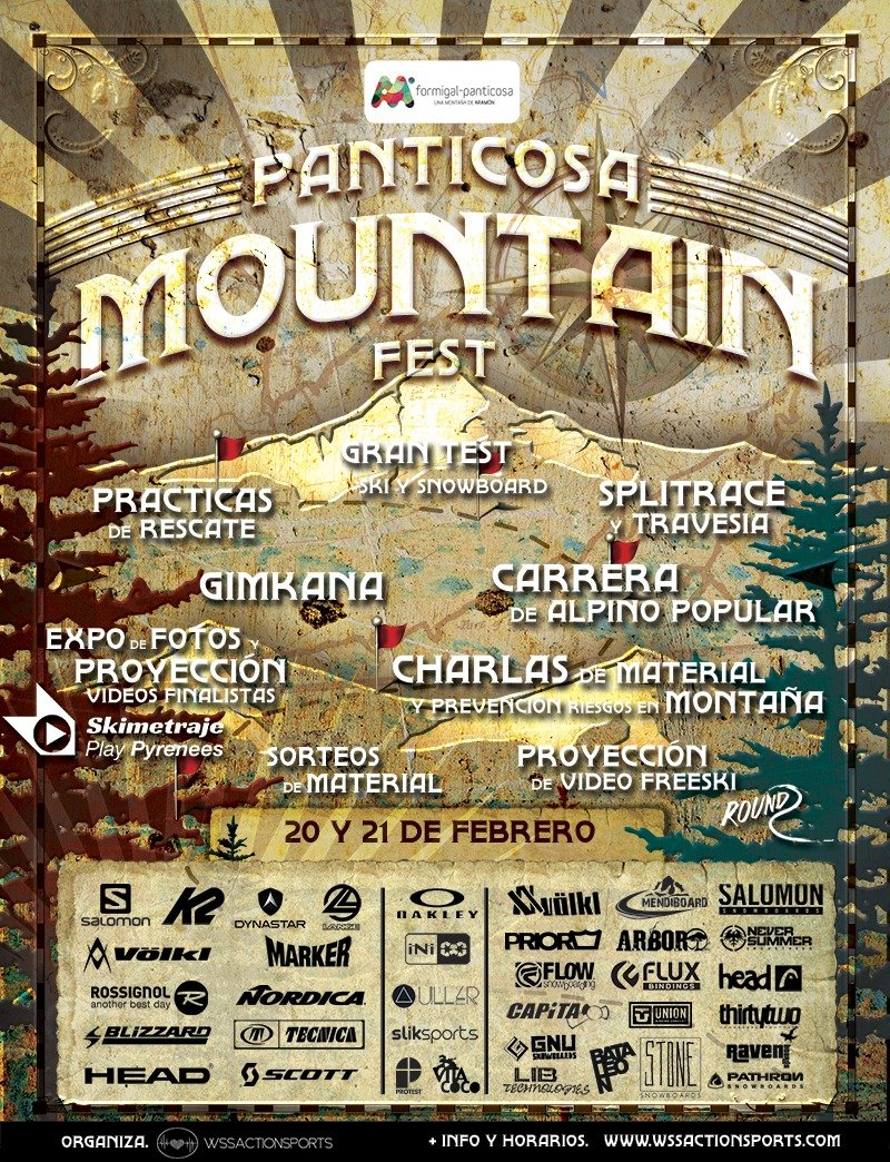 PANTICOSA MOUNTAIN FEST, 20-21 FEBRERO