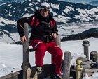 """Esquiador """"y media"""" en Kitzbüheler Alpen"""