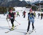 La única carrera femenina de esquí de montaña de nuestra península
