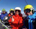 Esquiando 100 km en un día