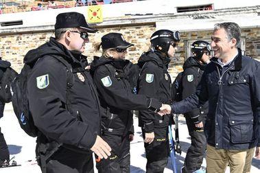 El Nucleo de Esquí de Sierra Nevada contará con más presencia policial