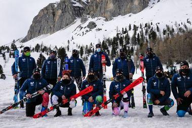España se vuelve con 7 medallas del World Criterium Masters en Cortina  d'Ampezzo