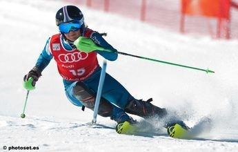 Miren Miquel y Quim Salarich son los Campeones de España de Slalom