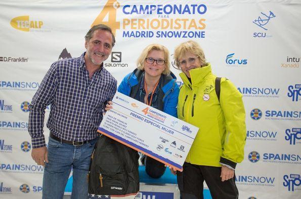 IV Carrera periodistas Madrid SnowZone