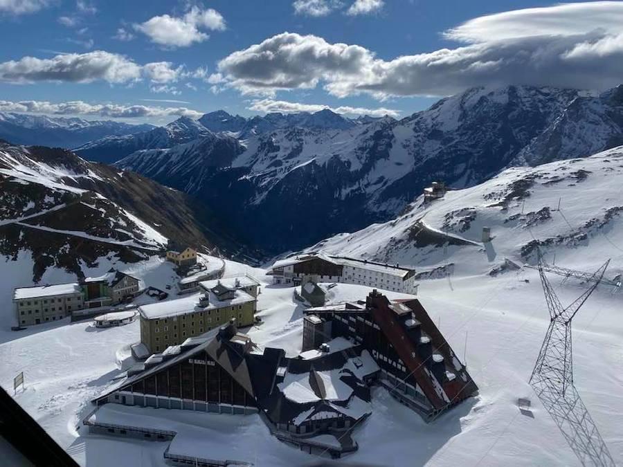 Hoteles en Paso Stelvio glaciar esqui