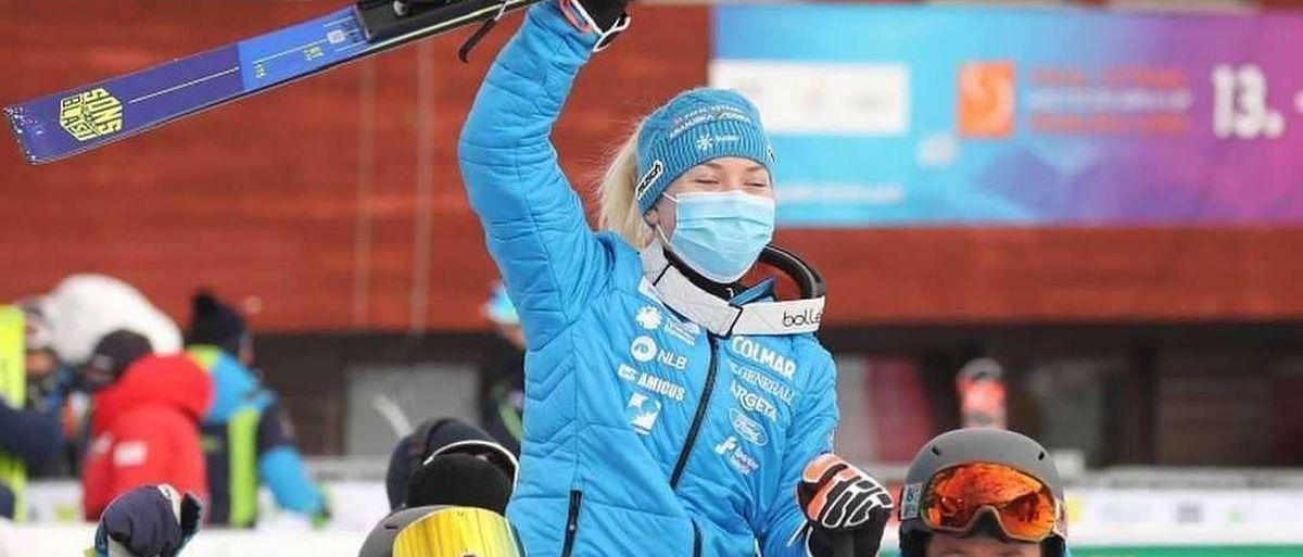 Selección Oficial de esquí alpino de Eslovenia para la temporada 2021-2022