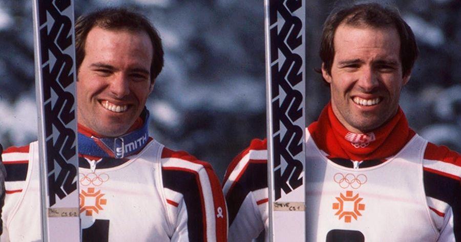 Phil & Steve Mhare en Sarajevo 1984