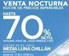 Chillán: Última parada de Venta Nocturna de Nevados de Chillán