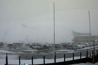 Una intensa nevada prepara la temporada de esquí de verano en Stelvio