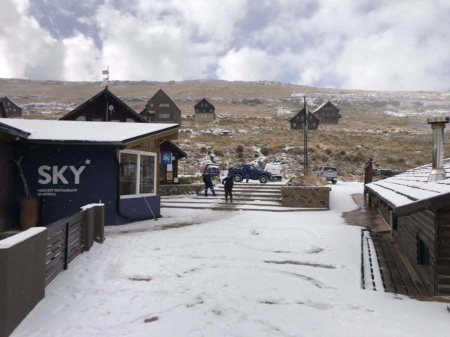 Afriski estacion esqui Lesotho