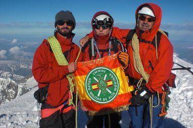 1ª Ascensión española al Mont Blanc (4.810 m), por una mujer con discapacidad