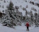 Valle Hermoso con Excelentes Condiciones de Nieve