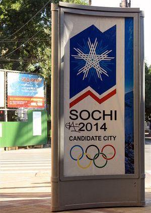Cartel de Sochi 2014