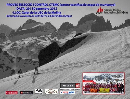 Vols competir en esquí de muntanya?