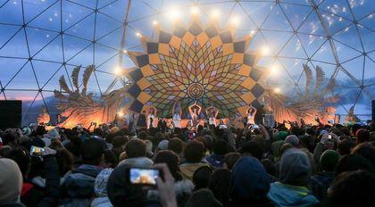Un éxito fue el Corona sunsets Festival en Nevados de Chillán