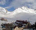 Estaciones de Argentina y Chile rebosantes de nieve