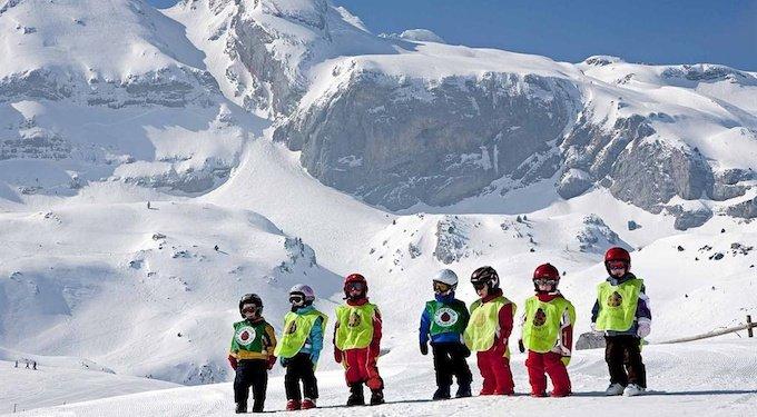 Niños y esquí (II): Como iniciar a los niños en el esquí