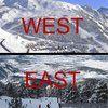 7 diferencias entre esquiadores del ESTE y del OESTE.
