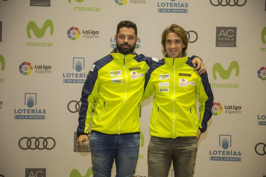 Miguel Galindo y Jon Santacana