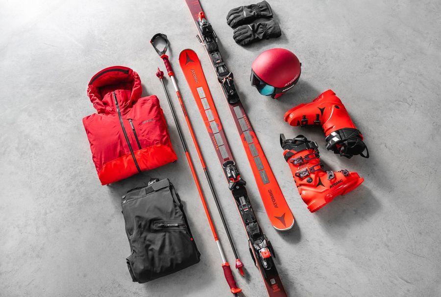 Colección Revoshock Atomic skis