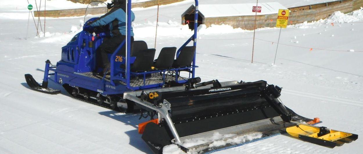 Sherpa Snowmobile: Llanos del Hospital compra la primera moto de nieve con pisapistas de España