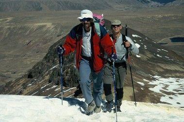 Andes Bolivianos: Chakaltaya, Khala Cruz y Huayna Potosi