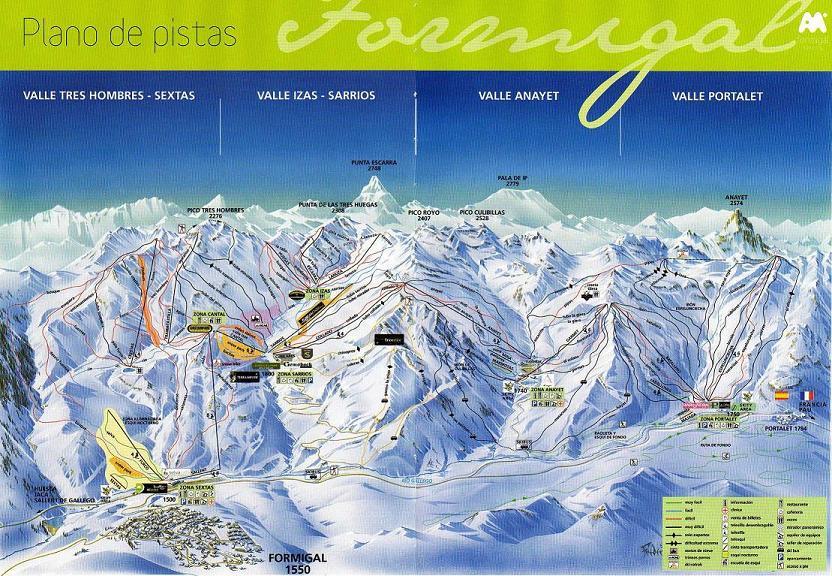 Mapa De Pistas 2007 2008