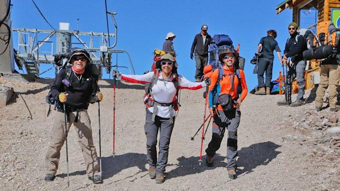La Parva abre temporada a turistas y andinistas