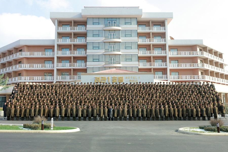 ki Jong Un en Yangdok