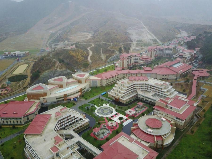 Complejo hotelero de Yangdok