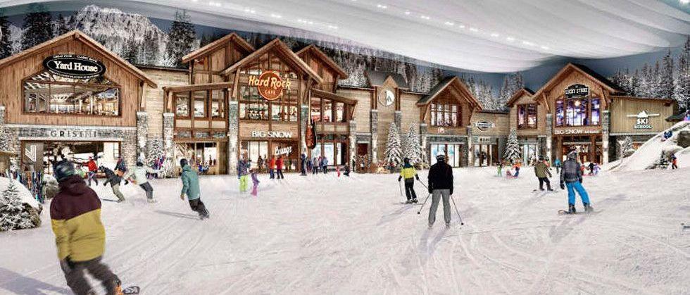 Abre Big Snow: la primera estación de esquí cubierta de Norteamérica
